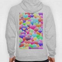 Bubble Hearts Dark Hoody