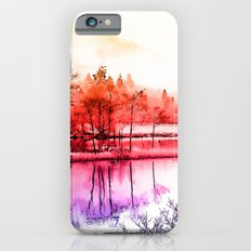 Tranquility in Red Slim Case iPhone 6s