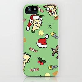 Santa Roolz iPhone Case