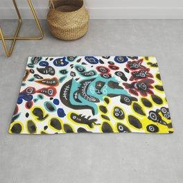 Sweet Little Monsters Pattern for Kids Rug