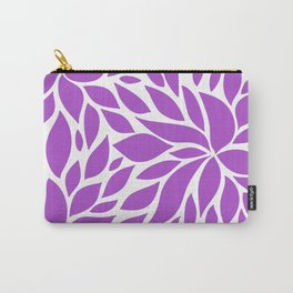 Bloom - Purple Carry-All Pouch