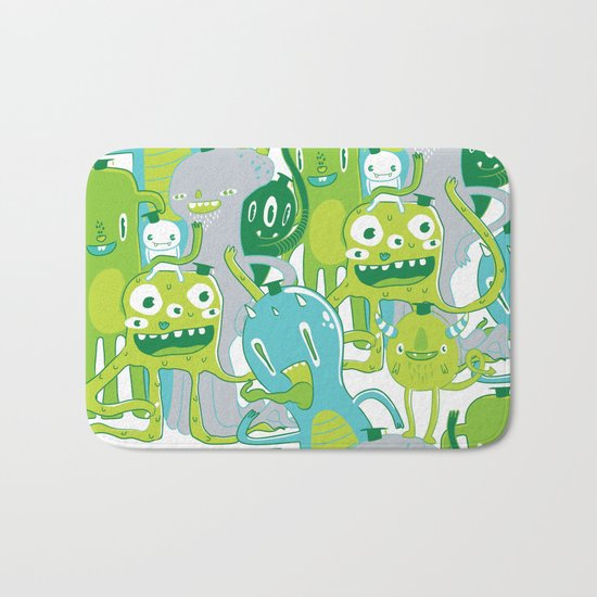 Done with Monster School! Bath Mat