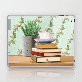 Tea and book love Laptop & iPad Skin