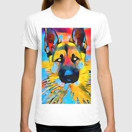 German Shepherd 2 T-shirt