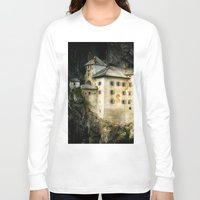 castle Long Sleeve T-shirts featuring Castle by DistinctyDesign