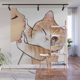 want to kiss Wall Mural