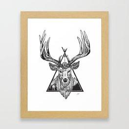 Solos Deer Framed Art Print