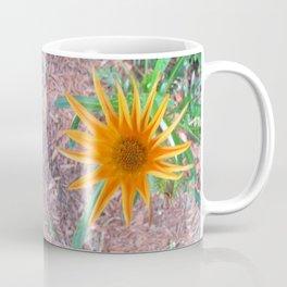 Spiky Orange Flower  Coffee Mug