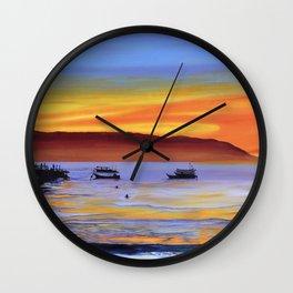 Whispering Seas Wall Clock