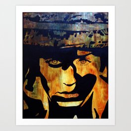 G. I Jo Art Print