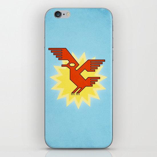 Geometric Andean Condor Bird iPhone & iPod Skin