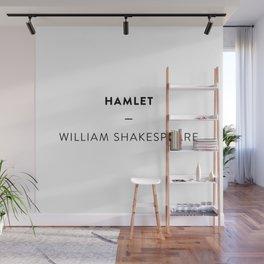 Hamlet  —  William Shakespeare Wall Mural