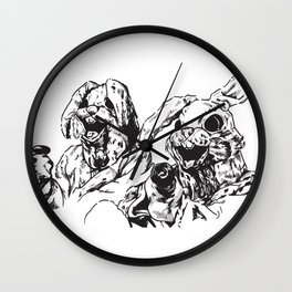 Easter Heist: We Came for Carats Wall Clock