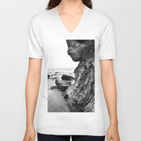 wild things V-neck T-shirts featuring the wild things by Joleia
