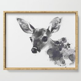 Watercolor Deer Serving Tray