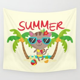 Hello, summer Wall Tapestry