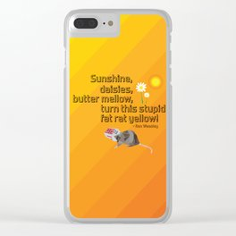 Are you sure that's a real spell? Clear iPhone Case