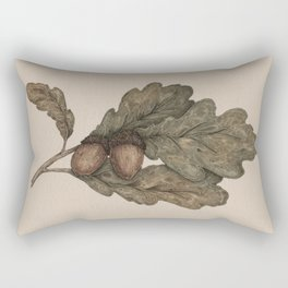 Acorns Rectangular Pillow