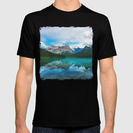 The Mountains and Blue Water - Nature Photography T-shirt