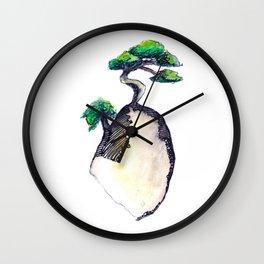 floating island Wall Clock