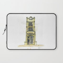 Building Tales - 9a Tory Street, Wellington Laptop Sleeve