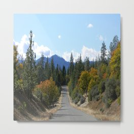 Ewing Reservoir in the Fall... Metal Print