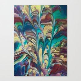 Flowery Sail Canvas Print