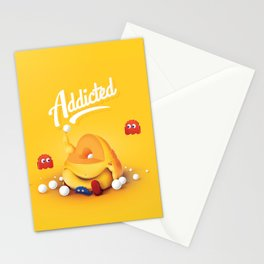 16 Bit Addiction Stationery Cards