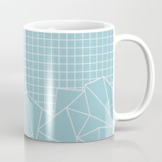 Ab Outline Grid Salty Mug
