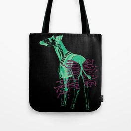 Electric Okapi Tote Bag