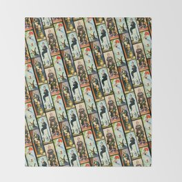 Haunted Mansion Stretch Paintings Throw Blanket