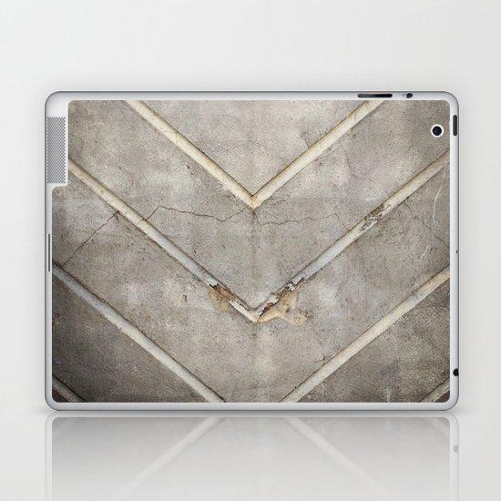 Concrete Chevron Laptop & iPad Skin