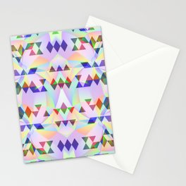 Lilac tribomb Stationery Cards