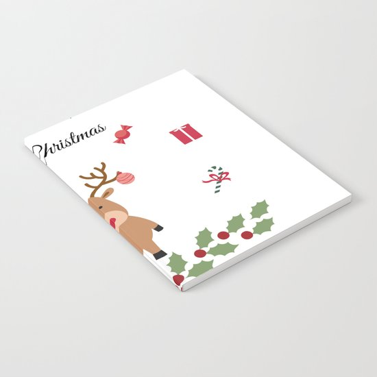 Merry Christmas Notebook