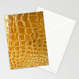 Gold Skin Stationery Cards