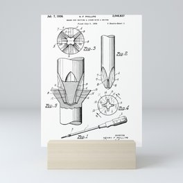 Phillips Screwdriver: Henry F. Phillips Screwdriver Patent Mini Art Print