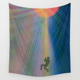 reach out and touch confidence Wall Tapestry