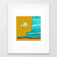 utah Framed Art Prints featuring utah by worricow