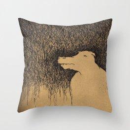 Fading Slowly Throw Pillow