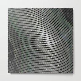 Silver 2 Metal Print
