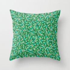 Pixel Art 5 Throw Pillow