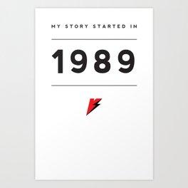 My Story Series (1989) Art Print