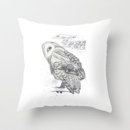 Stages of Sleep Throw Pillow