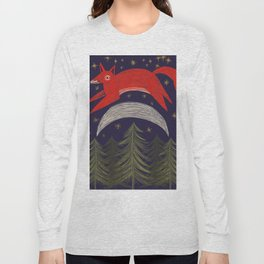 The Fox Jumped Over the Moon Long Sleeve T-shirt