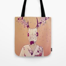 Sakura Lady Tote Bag