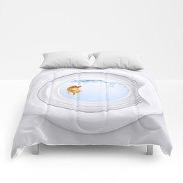 (Very) Clean Goldfish Comforters