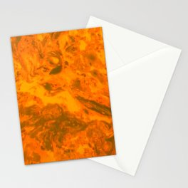 Molten Lava Stationery Cards