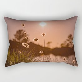Sunset at Sandviksfjellet, Bergen, Norway Rectangular Pillow