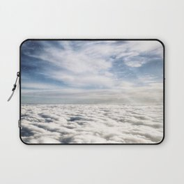 The Edge Between Sky and Space Laptop Sleeve