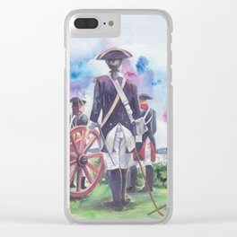 Artillery Company Clear iPhone Case